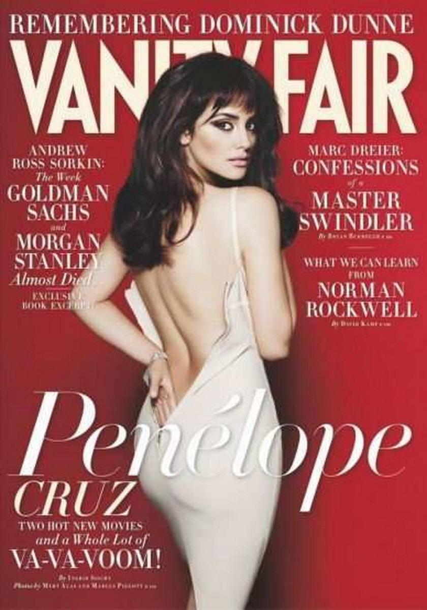 "Cruz kipiąca seksem w ""Vanity Fair"". FOTO"