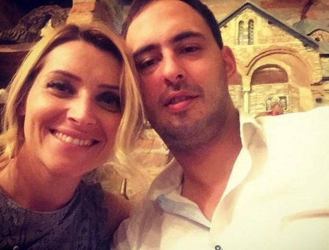 Anđelka Prpić sa bivšim mužem