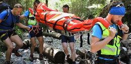 Poważny wypadek polskiej turystki w Tatrach