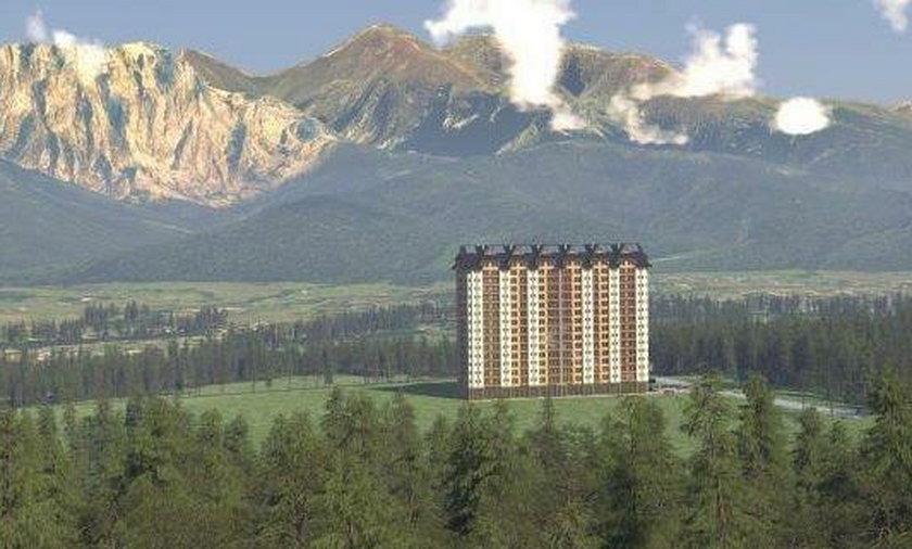 Deweloper z Austrii buduje pod Tatrami 16-piętrowy wieżowiec