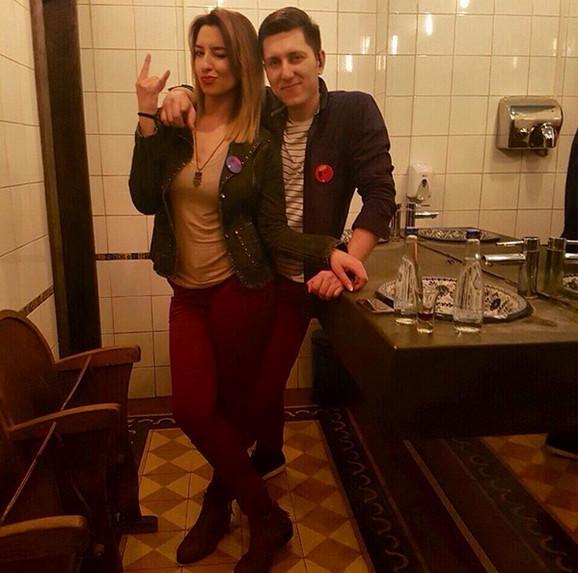Marina Uzelac i Davor Jovanović