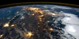 Jakie to piękne! Noc na Ziemi widziana z satelity! FILM