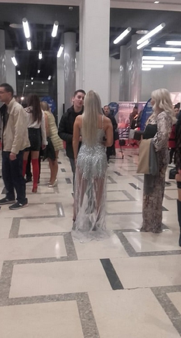 Sanja Stanković na izboru za Mis Srbije 2019