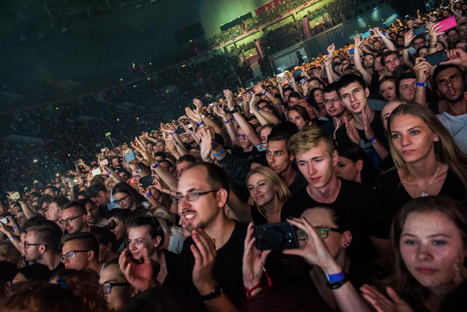 Koncert Kings Of Leon w Tauron Arena Kraków: publiczność