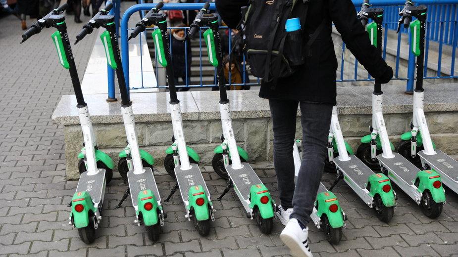 Hulajnogi elektryczne uzyskały status prawny w nowelizacji ustawy o ruchu drogowym