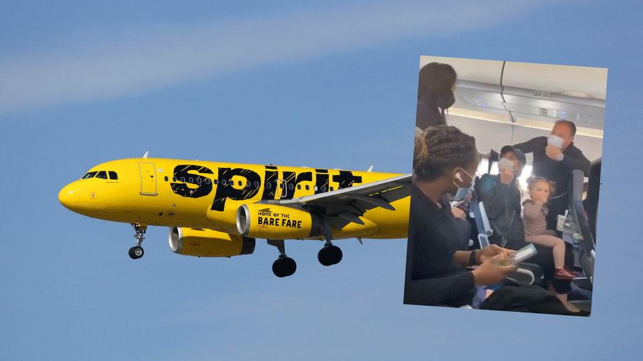 Spirit Airlines, awantura na pokładzie