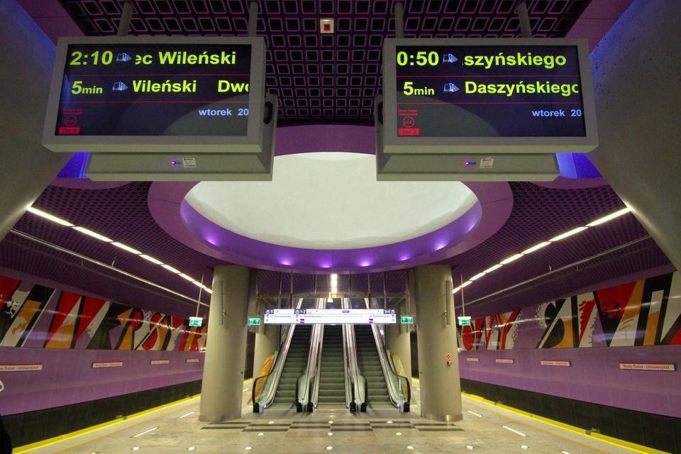 Stacja Nowy Świat Uniwersytet w Warszawie