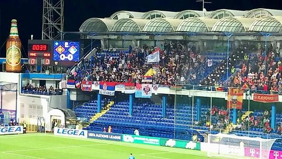 Srpski navijači u Podgorici