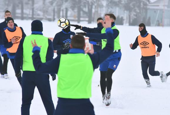 Trening FK Vojvodine