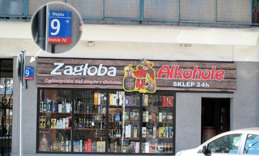 sklep alkoholowy pod sejmem