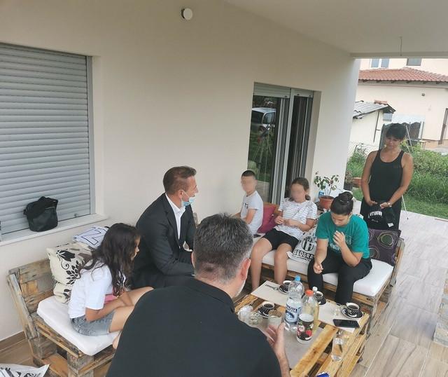 Čelnici crno-belih u poseti porodici Aćimović
