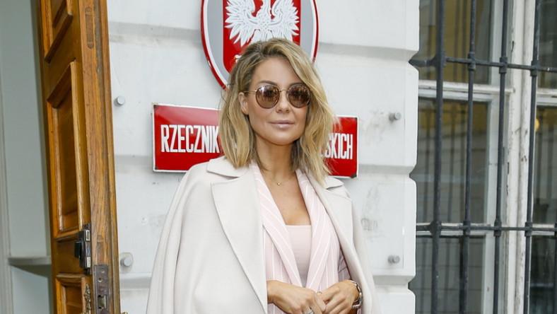"""W tym tygodniu gwiazda wzięła udział w konferencji prasowej """"In vitro w Polsce - fakty i mity"""", odbywającej się w Biurze Rzecznika Praw Obywatelskich..."""