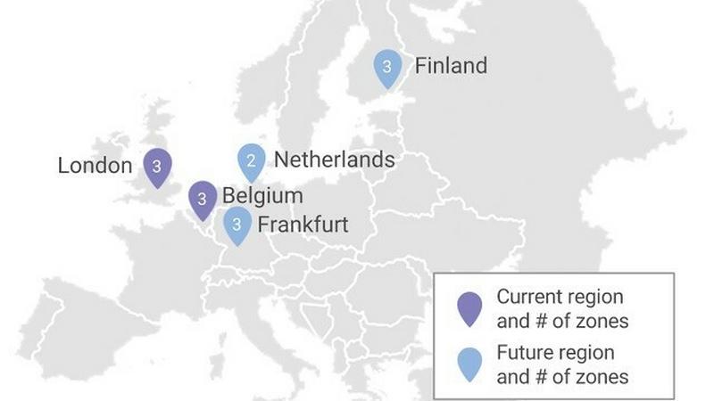 Google uruchamia serwerownię w Londynie