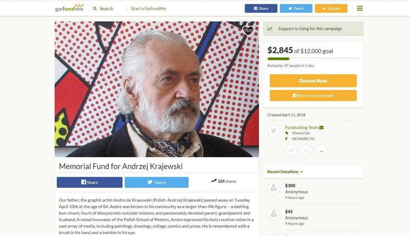 Zmarł znany, polski artysta. Rodzina nie ma pieniędzy na pogrzeb
