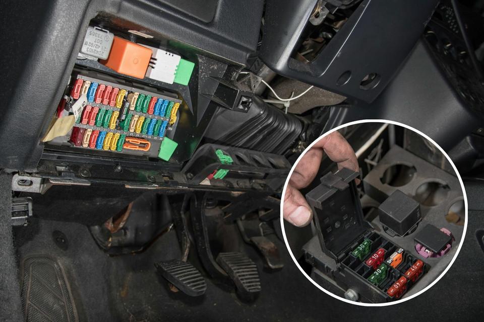 Мы обслуживаем Peugeot 306 1.9 TD: предохранители