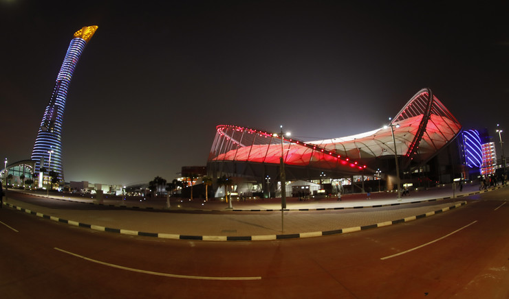 Stadion Doha, SP Atletika