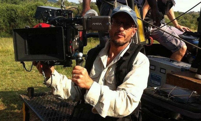 Południowoafrykański filmowiec Carlos Carvalho został zabity przez żyrafę na planie najnowszego filmu