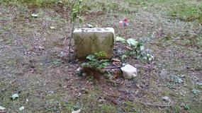Grób XYZ - rabusia, który zginął przeszło100 lat temu, a wciąż jest nawiedzany przez postać w czerni