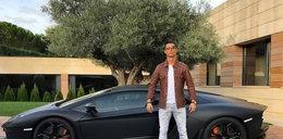 Ronaldo jechał z dziewczyną i... poczuł potworny ból