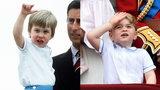 Książę George w stroju swojego ojca sprzed 32 lat