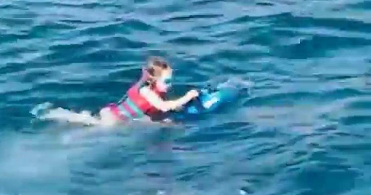 Anna Lewandowska na Majorce chwali talent pływacki 4-letniej Klary