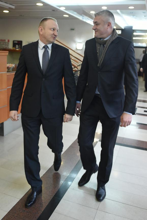 Dragan Đilas i Predrag Danilović