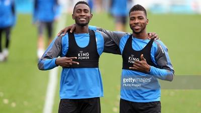Wilfred Ndidi and Kelechi Iheanacho have the best 'bromance' at Leicester City according to two of their teammates