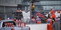 Poważny wypadek syna legendy sportów motorowych