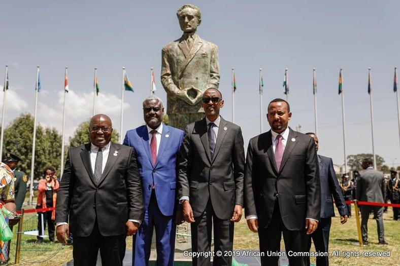 Unveiling Ceremony of the Statue of Emperor Haile Selassie