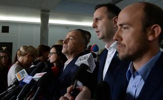 Schetyna apeluje do prezydenta, by przygotował projekt zmian w ustawie o ustroju sądów