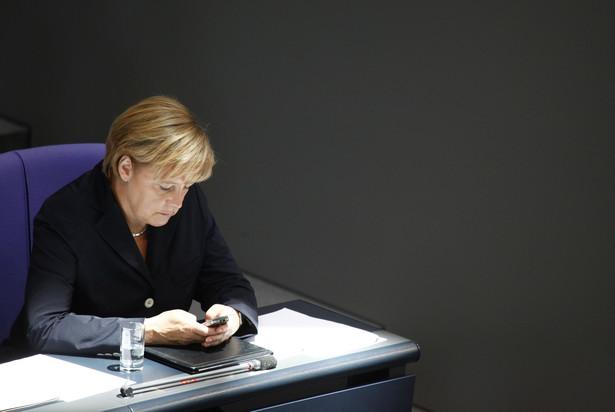 Kanclerz Niemiec Angela Merkel. Fot. Bloomberg
