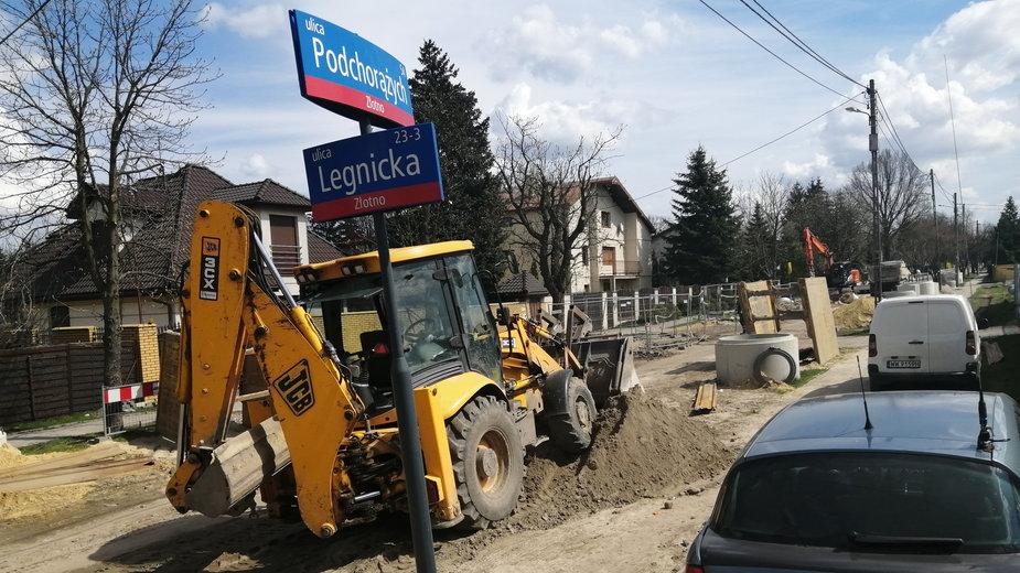 Łódź: utrudnienia dla mieszkańców w związku z inwestycją