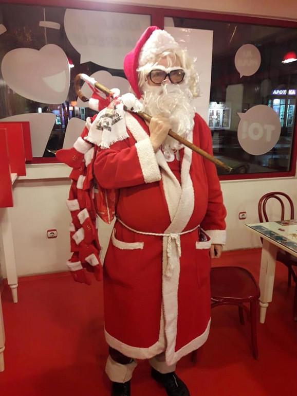 Dragan kao Deda Mraz