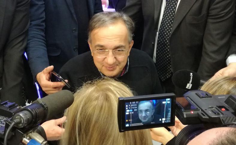 Szef koncernu Fiat Chrysler Automobile Sergio Marchionie