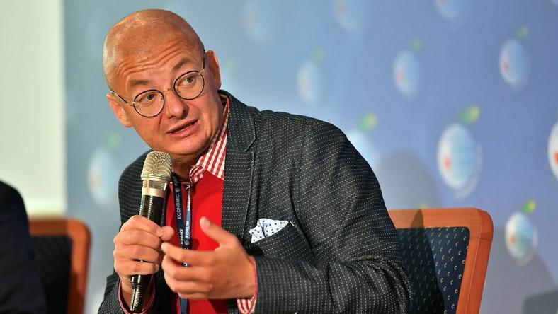 Wicemarszałek Senatu RP Michał Kamiński PAP/Maciej Kulczyński