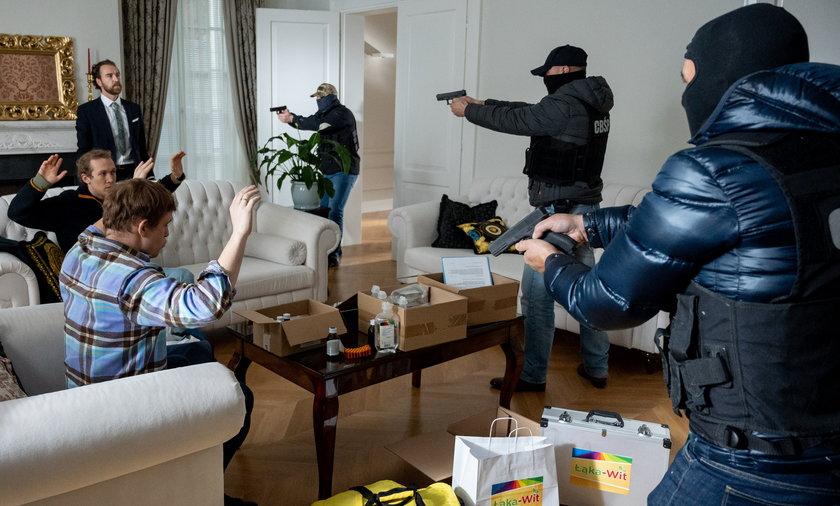 Policja od dawna miała na oku nielegalny biznes Łąki