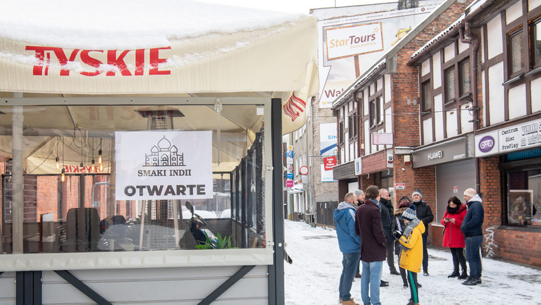 Otwarta restauracja w Toruniu