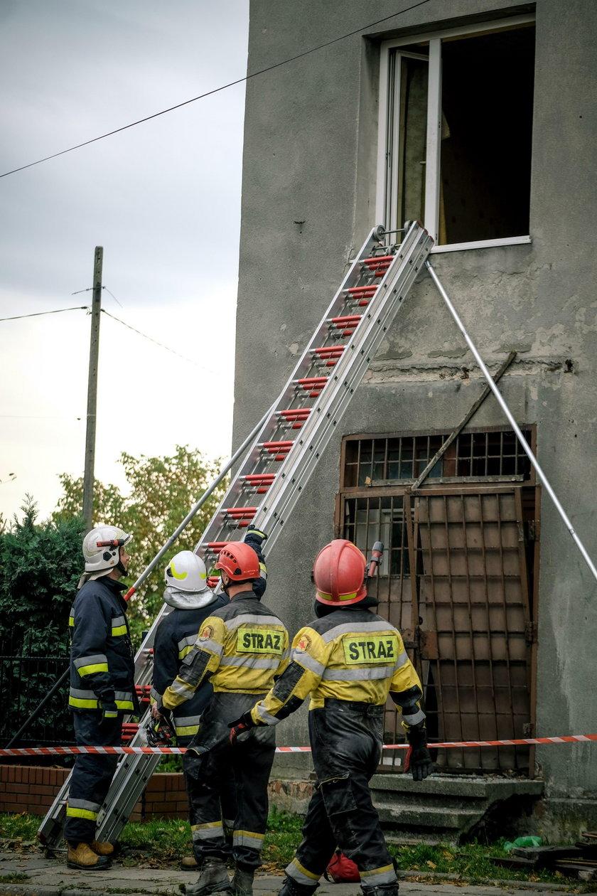 Wojkowice. Wybuch gazu w domu przy ul. Sobieskiego