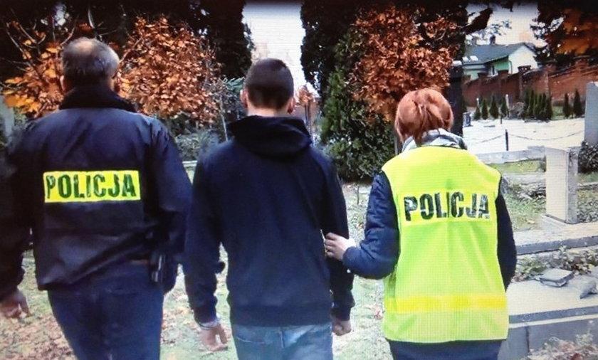 Policja złapała wandali z Bielska- Białej