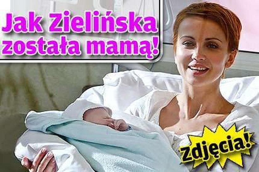 Jak Zielińska została mamą! ZDJĘCIA