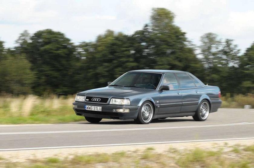 Audi V8 - Luksusowy klasyk dla konesera