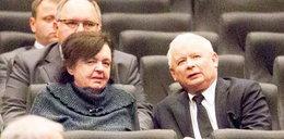 Kaczyński w kinie. Obok niego Anna Religa