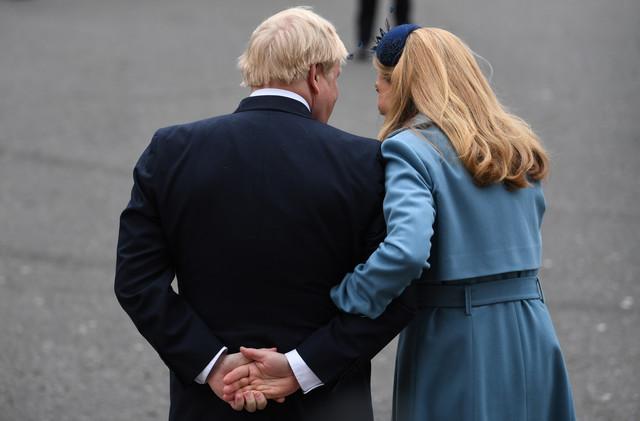 Prijatelji tvrde da su srećni zajedno - Boris Džonson i Keri Simonds
