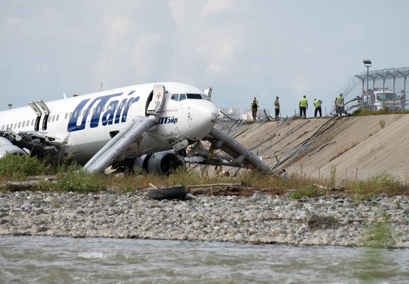 Samolot rozbi? si? podczas l?dowania w Soczi