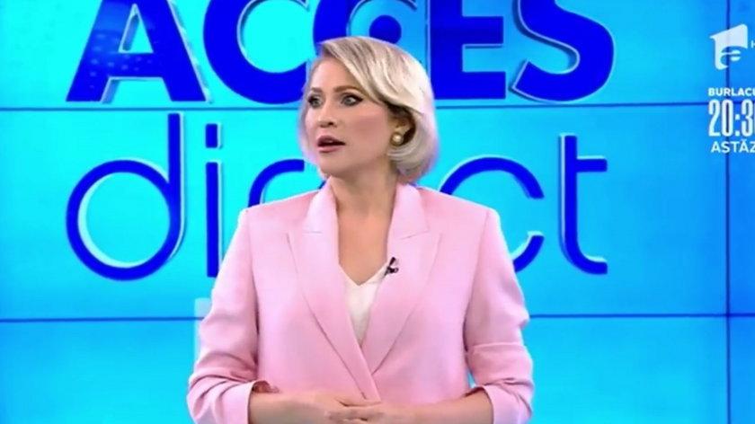 Dziennikarka zaatakowana na wizji przez nagą kobietę. Szokujące nagranie!
