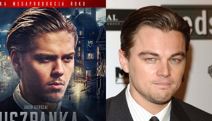 Jakub Gierszał i Leonardo DiCaprio