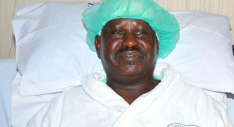 File Image of ODM leader Raila Odinga