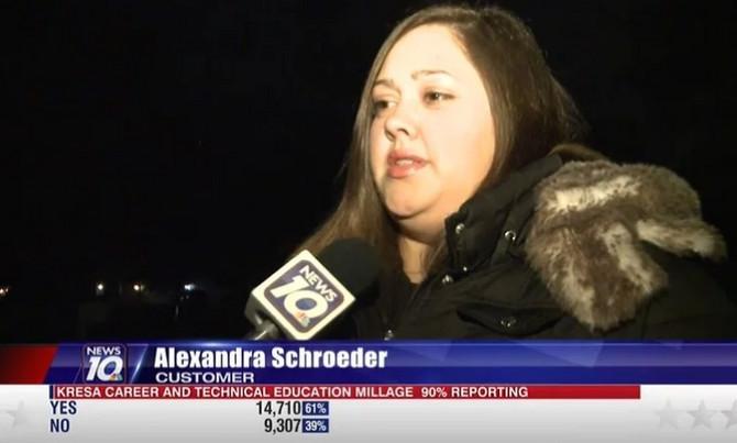 Nezadovoljna Aleksandra