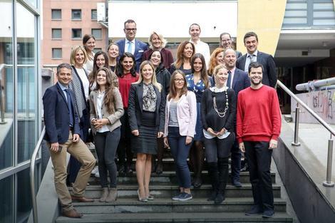 Stipendisti HF fondacije i njihovi mentori, stručnjaci HF