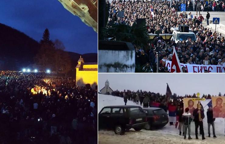 Crna Gora protesti foto Facebook Obhejtiv story
